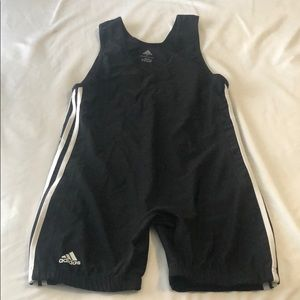 Adidas weightlifting singlet size large